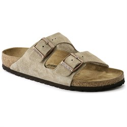 Birkenstock Arizona Suede Sandals - Women's