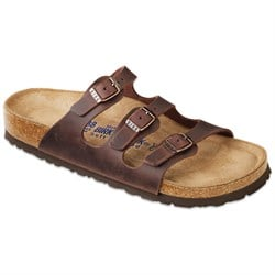 Birkenstock Florida Oiled Leather Soft Footbed Sandals - Women's