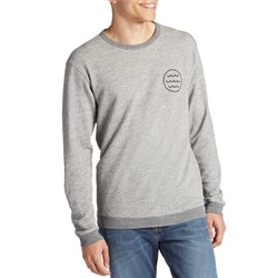 Mollusk White Water Crew Sweatshirt