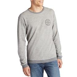 Mollusk White Water Crew Sweatshirt