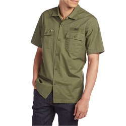 Obey Clothing Mission Military Woven Short-Sleeve Shirt