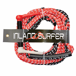 Inland Surfer Leatherman 25 ft Wakesurf Rope