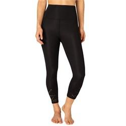 Beyond Yoga Knit Down High Waisted Midi Leggings - Women's