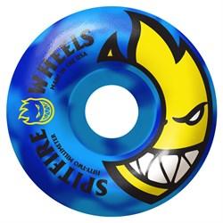 Spitfire Bighead Code Blue Swirls 99a Skateboard Wheels