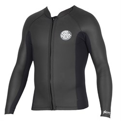 Rip Curl 1.5mm Aggrolite Long Sleeve Front Zip Wetsuit Jacket