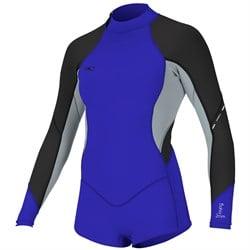O'Neill Bahia 2/1mm Long Sleeve Short Spring Wetsuit - Women's
