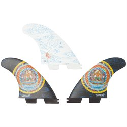Gorilla Grip x FCS II Monkey King PC Medium Tri Fin Set