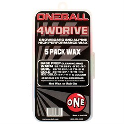 OneBall 4WD 5-Pack Wax