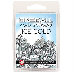 OneBall 4WD Ice Snowboard Wax