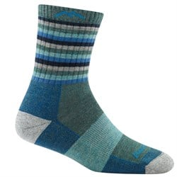 Darn Tough Stripe Micro Crew Cushion Socks - Women's