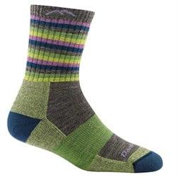 Darn Tough Stripe Micro Crew Cushion Socks - Women's