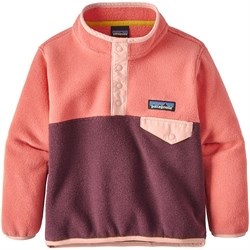 Patagonia Lightweight Synchilla Snap-T Pullover - Toddler Girls'