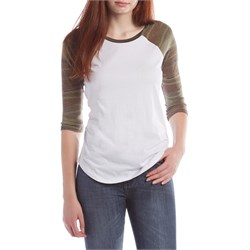 Z Supply Camo Baseball T-Shirt - Women's