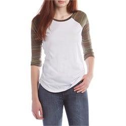 Z Supply Camo Baseball T-Shirt - Women's
