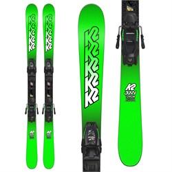 K2 Juvy Skis + Marker FDT 7.0 Bindings - Boys' 2019 - Used