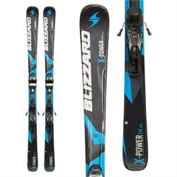 Blizzard Power X7 Skis + IQ-TP10 Bindings  - Used