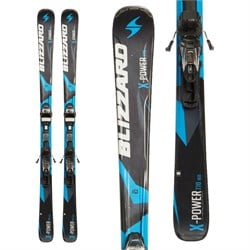 Blizzard Power X7 Skis ​+ IQ-TP10 Bindings  - Used