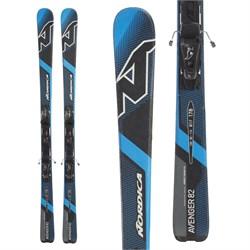 Nordica Avenger 82 EVO Skis + N ADV P.R. Bindings  - Used