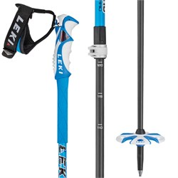 Leki Bluebird Vario S Adjustable Ski Poles 2019
