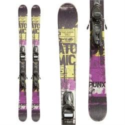 Atomic Punx Jr Skis + Team Bindings - Boys'  - Used