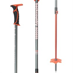 BCA Scepter Adjustable Aluminum Ski Poles 2019