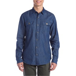 Roark St. Petes Denim Button Down Shirt
