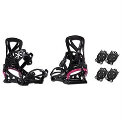 Karakoram Connect ​+ 2x Quiver Connector Snowboard Bindings - Women's  - Used