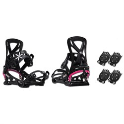 Karakoram Connect ​+ 2x Quiver Connector Snowboard Bindings - Women's 2018