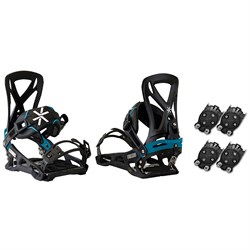 Karakoram Prime Connect-SF ​+ 2x Quiver Connector Snowboard Bindings 2018