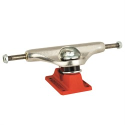 Independent 139 Stage 11 Bar Cross Silver Red Standard Skateboard Truck