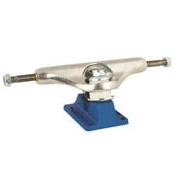 Independent 139 Stage 11 Bar Cross Silver Blue Standard Skateboard Truck