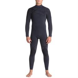 Quiksilver 4/3 Originals Monochrome GBS Asym Chest Zip Wetsuit