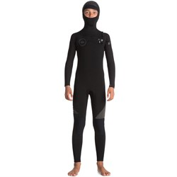 Quiksilver 5/4/3 Syncro Chest Zip GBS Hooded Wetsuit - Boys'
