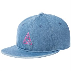 HUF Formless Denim Triple Triangle 6 Panel Hat