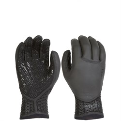 XCEL 3mm Drylock Texture Skin 5-Finger Wetsuit Gloves