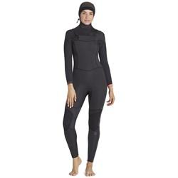 Billabong 5/4 Synergy Chest Zip Hooded Wetsuit - Women's