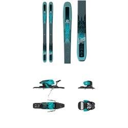 Salomon QST Lumen 99 Skis - Women's + Warden 11 Ski Bindings 2018