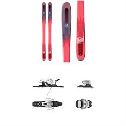 Salomon QST Myriad 85 Skis - Women's +  Warden 11 Ski Bindings 2018