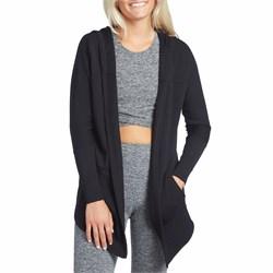 Beyond Yoga Love And Fleece Hooded Cardigan - Women's