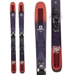 Salomon QST Stella 106 Skis + Warden 11 Demo Bindings - Women's  - Used