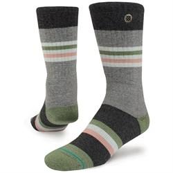Stance White Salmon Outdoor Socks