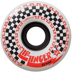 Krooked Zip Zinger 80HD White Skateboard Wheels