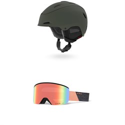 Giro Stellar MIPS Helmet - Women's + Giro Ella Goggles - Women's