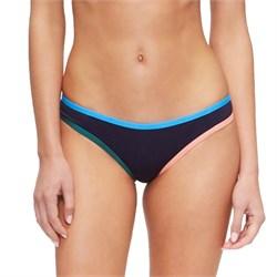 Tavik Jayden Moderate Color Blocked Bikini Bottoms - Women's