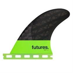 Futures QD2 4.0 Blackstix 3.0 Quad Rear Fin Set
