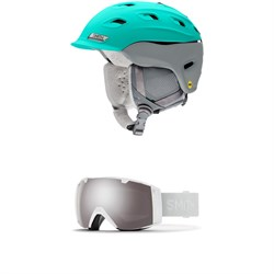 Smith Vantage MIPS Helmet - Women's ​+ Smith I​/O Goggles