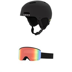 Giro Ledge MIPS Helmet + Giro Axis Goggles