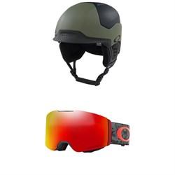 Oakley MOD 5 Helmet + Oakley Fall Line Goggles