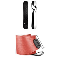 Jones Carbon Solution Splitboard  + Jones Nomad Quick Tension Splitboard Skins