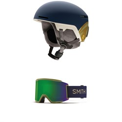 Smith Code MIPS Helmet ​+ Smith Squad XL Goggles